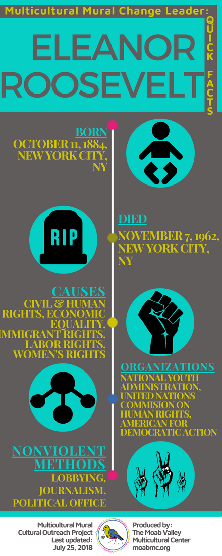 Eleanor Roosevelt Infographic
